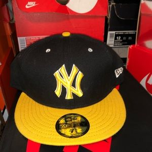 New era MLB New York Yankees fitted Cap hat 7 5/8